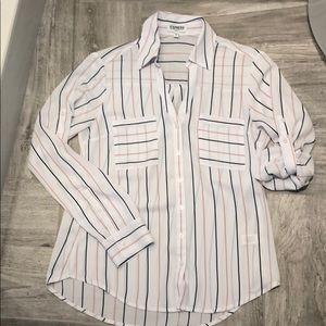 Express classic Portofino blouse size S - Slim Fit